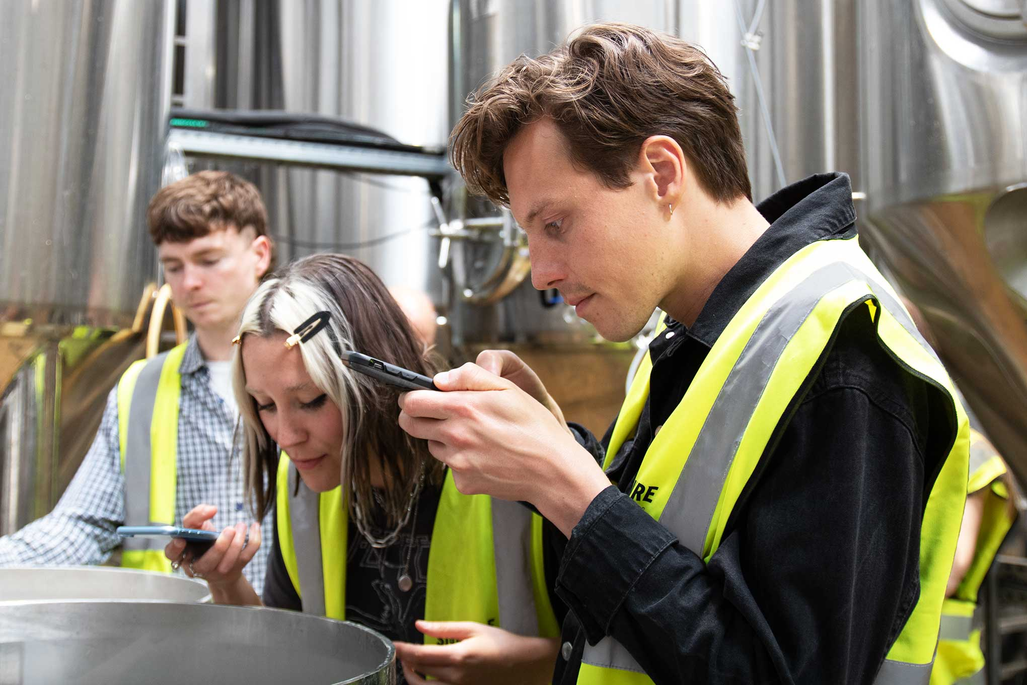 East London Brewery Tour Signature Brew Craft Beer