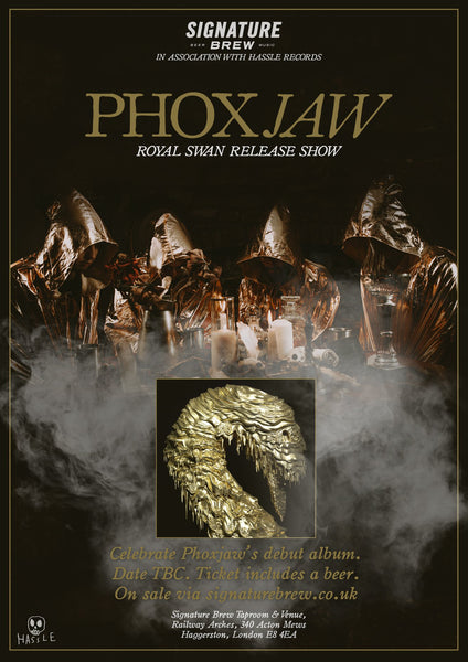 Phoxjaw Signature Brew Taproom & Venue Album Release Party East London