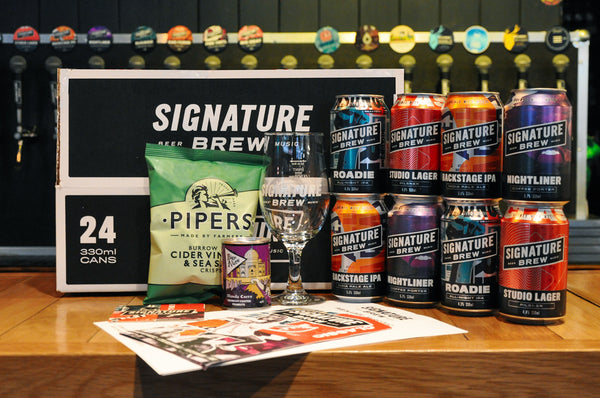 Signature Brew Pub In A Box Mail Order Beer Delivery