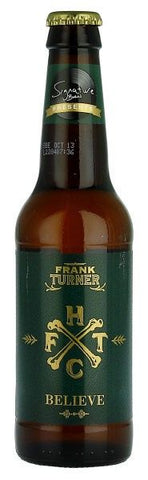 Signature Brew Frank Turner Believe Beer