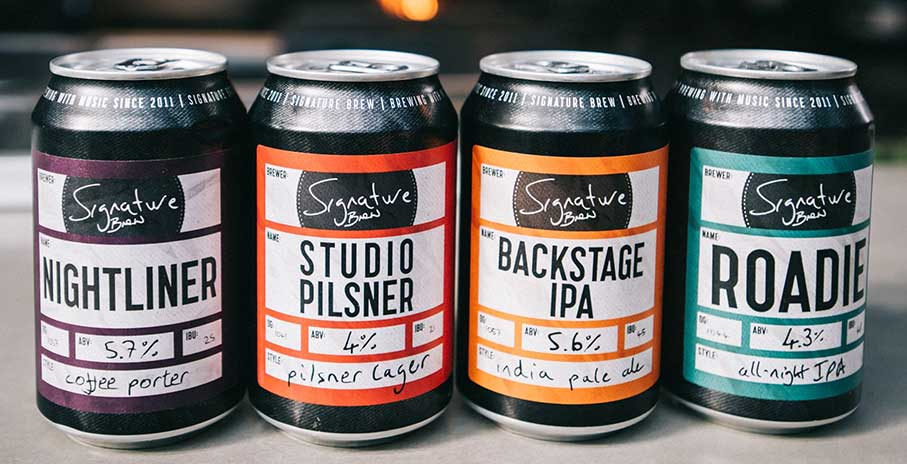 Signature Brew Music Makes Beer Taste Better