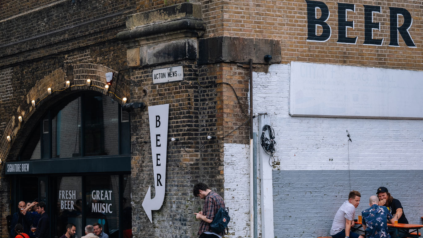 Signature Brew Taproom & Venue, East London Bar, Haggerston