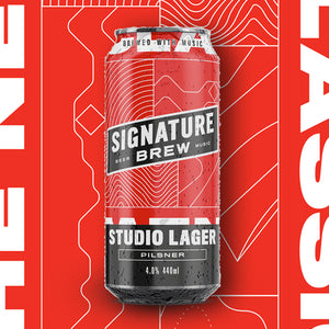 STUDIO LAGER - 440ml CANS