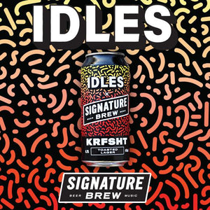 Idles Beer Band Collab Signature Brew Punk Collaboration East London 2019