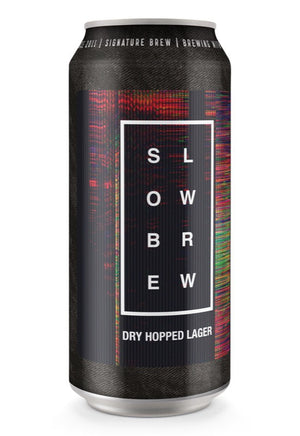 SLOW READER'S CLUB - SLOW BREW - 440ml CANS