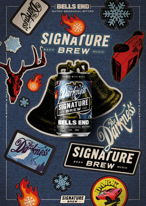 The Darkness Beer - Don't Let The Bells End - Christmas, Seasonal Ale, UK Craft Beer