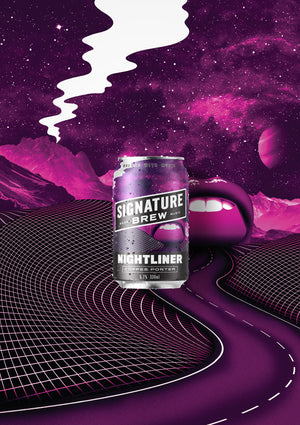 Signature Brew Nightliner Coffee Porter East London Walthamstow Beer Music