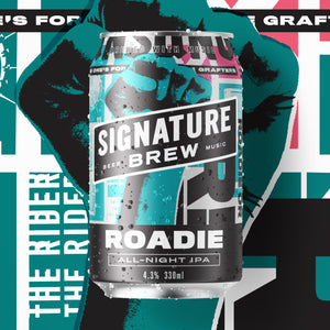 Signature Brew Roadie Session IPA East London Walthamstow Beer Music