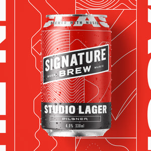 Signature Brew Studio Lager East London Walthamstow Beer Music