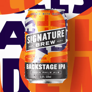 Signature Brew Backstage IPA East London Walthamstow Beer Music