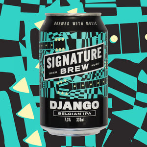 Django Double Dry Hopped DDH Belgian IPA Jazz Guitar Beer