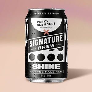 Shine - Coffee Pale Ale - Perky Blenders Collab