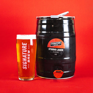 Studio Lager 5L Mini Keg