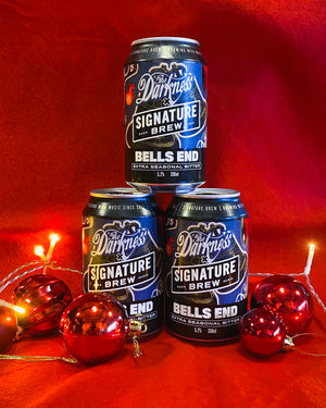 The Darkness Collab - Bells End - Extra Seasonal Bitter