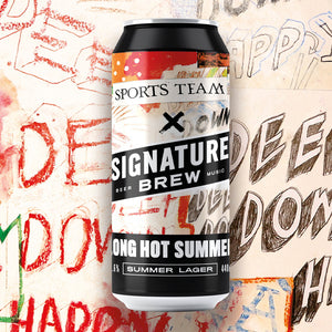 Sports Team Collab - Long Hot Summer Lager