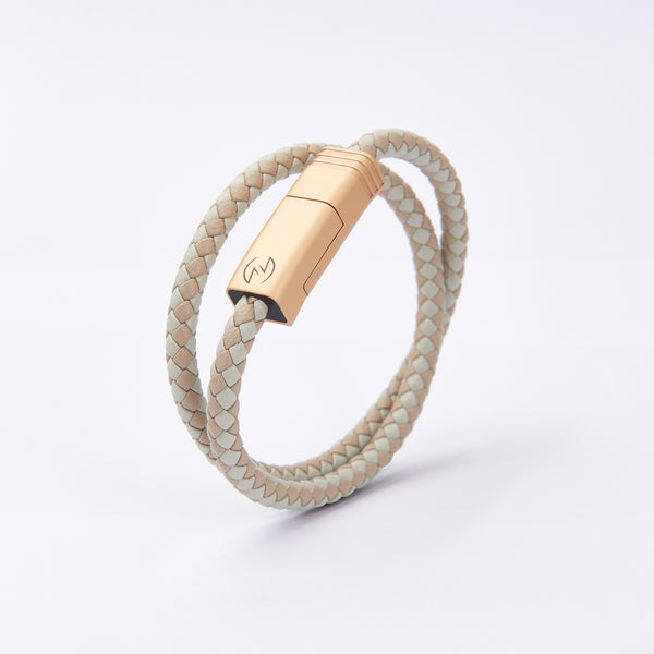 NILS 2.0 Cable - Desert Sand // Matte Champagne Gold
