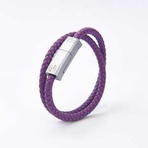 NILS 2.0 Cable - Joker Purple // Matte Silver