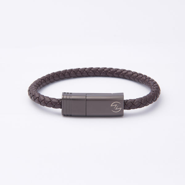 NILS 2.0 Cable - Dark Chocolate // Matte Gun Metal