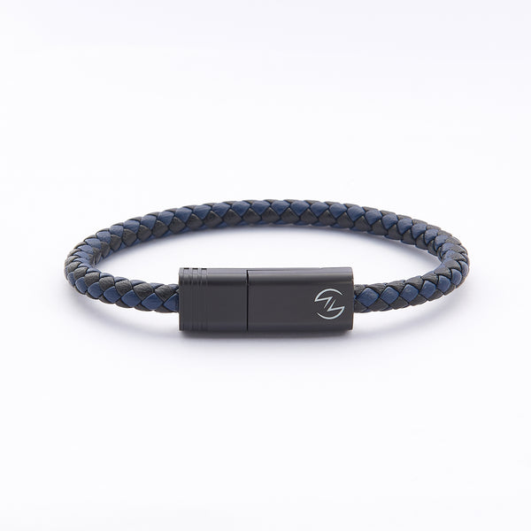 NILS 2.0 Cable - Nebula Blue // Matte Black