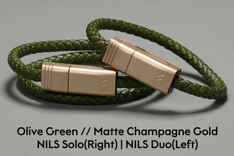 NILS Cable - Olive Green