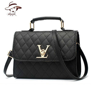 35bde20b4196 Luxury Famous Brand Black Handbag Women Bags Designer Crossbody Bags Small  Messenger Bag Ladies Shoulder Bag