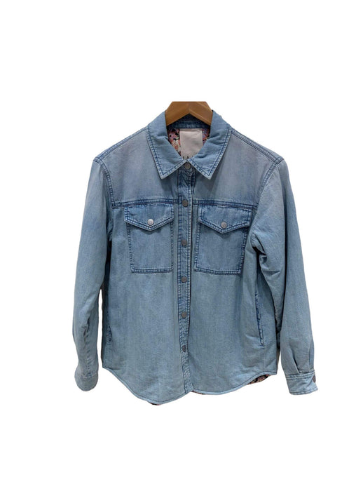 Drapey Denim Jacket