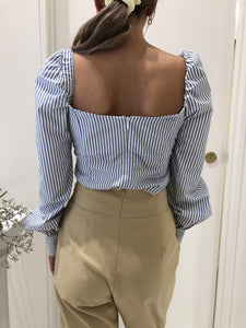 Puff Sleeve Ring Top