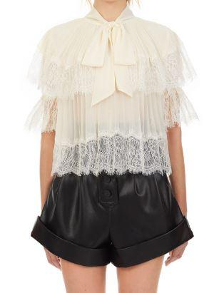 Chiffon Tiered Top