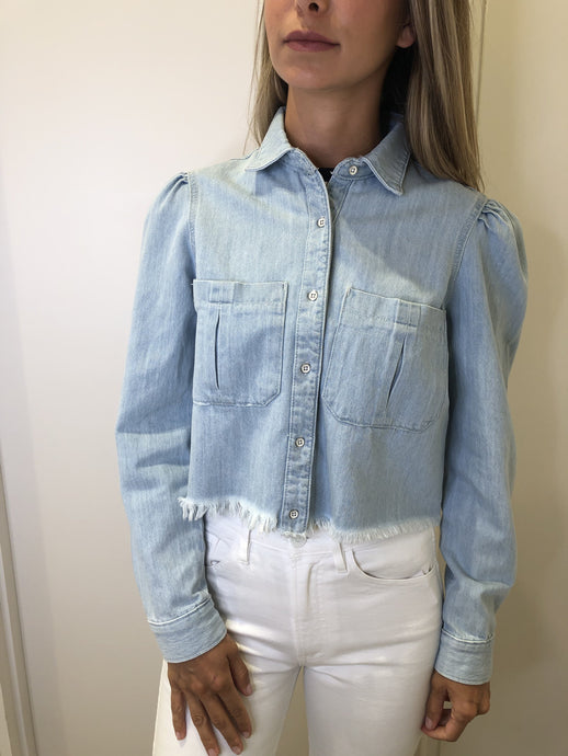 Simone Crop Denim Jacket
