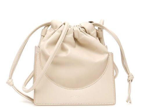 Pouch Rouched Leather Bag