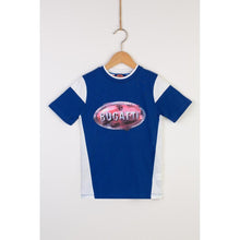 "Load image into Gallery viewer, ""Bugatti Automobiles"" Junior Sporty T-Shirt Macaron Logo"