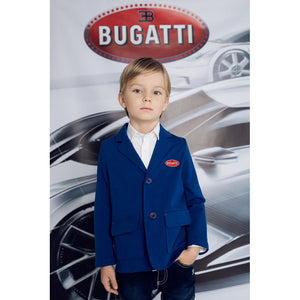 """Bugatti Automobiles"" Junior Blazer Rubber Badge"