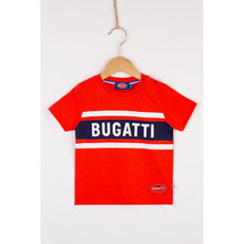 "Load image into Gallery viewer, ""Bugatti Automobiles"" Kid Sporty T-Shirt Rubber Badge"