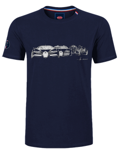 """Evolution"" T-Shirt Man Blue Navy"