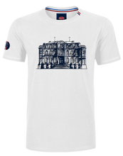 "Load image into Gallery viewer, ""Chateau"" T-Shirt Man White"