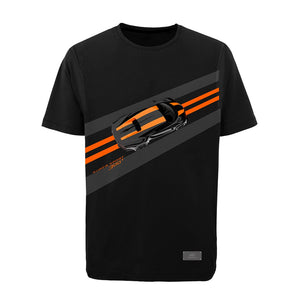 """Bugatti Automobiles"" Chiron SS 300+ T-Shirt Black - Special Edition"