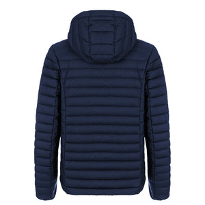 """Bugatti Automobiles"" Double Face Padded Vest Blue & Grey"