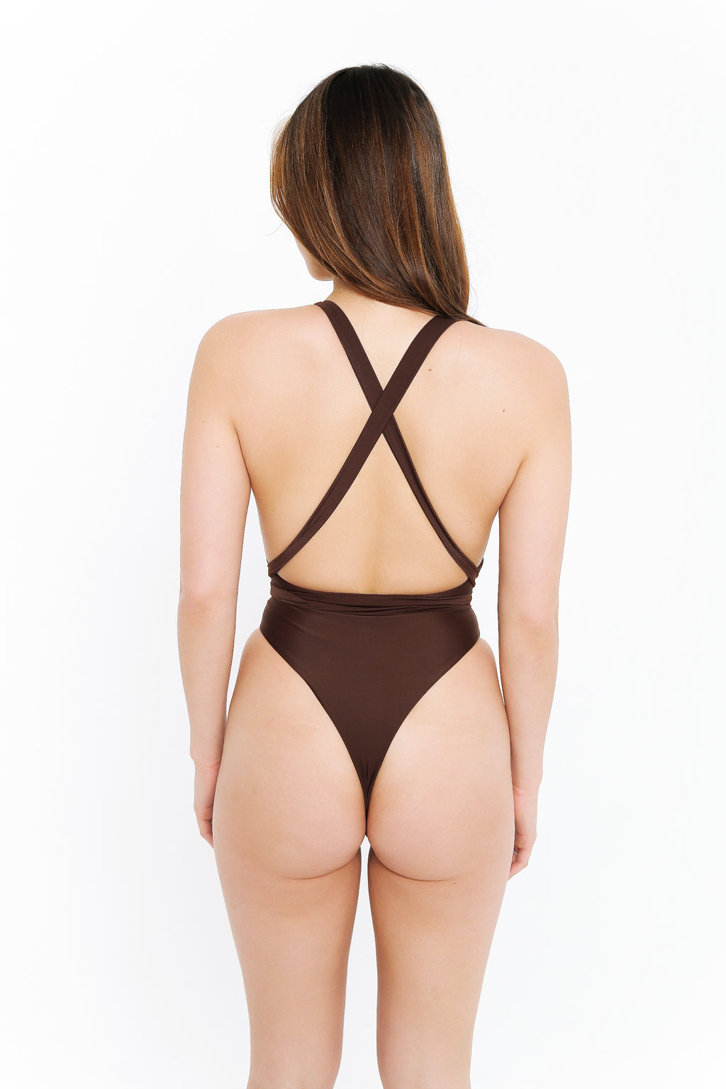 SARAH ONE PIECE - CHOCOLATE