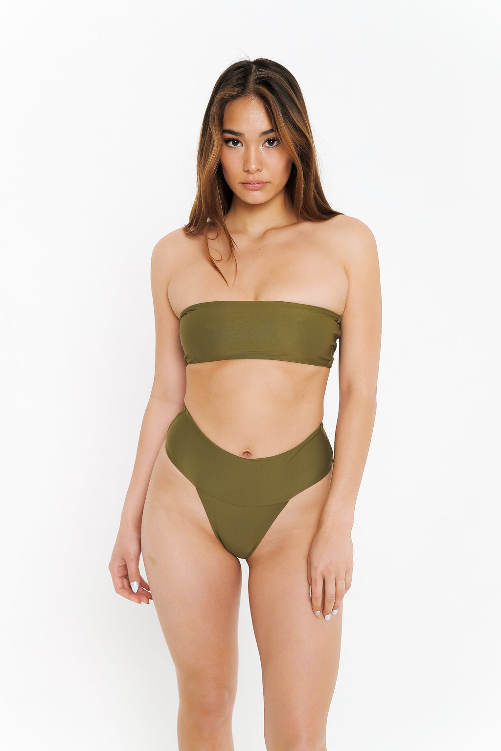 TASHA BOTTOM - OLIVE