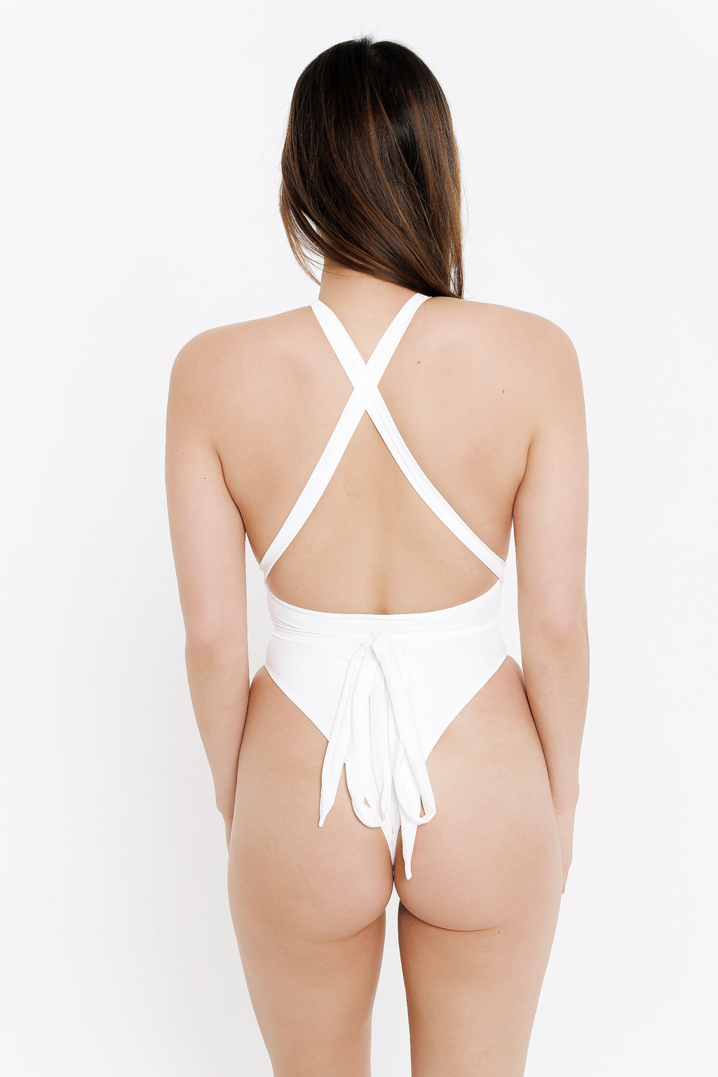SARAH ONE PIECE - WHITE