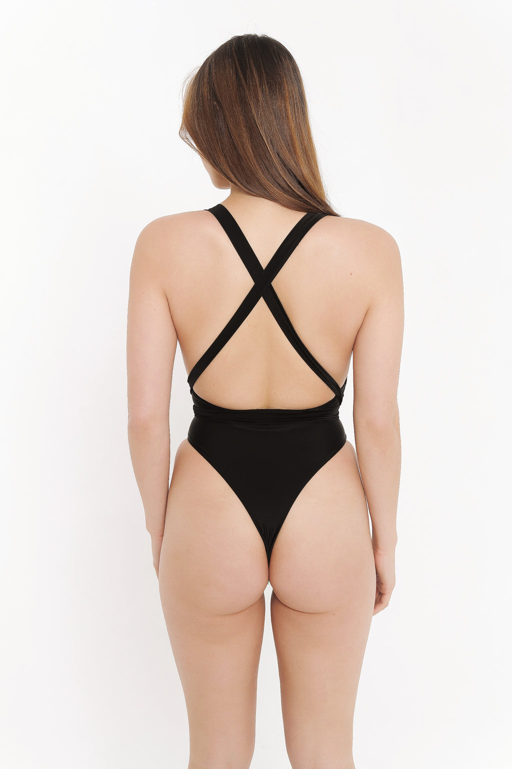 SARAH ONE PIECE - BLACK