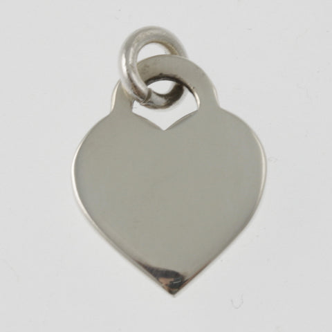 Heart small sterling silver pendant
