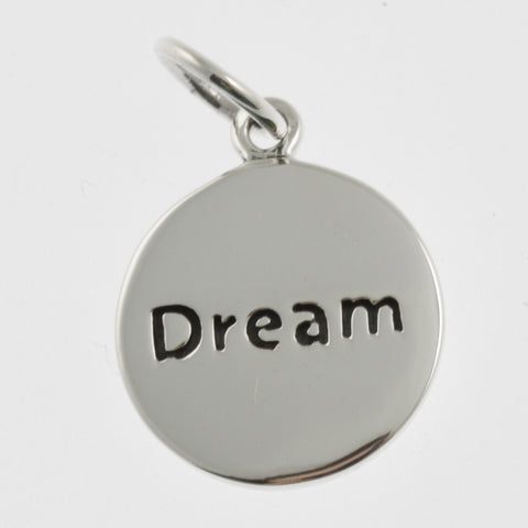 Inspiration silver pendant- dream