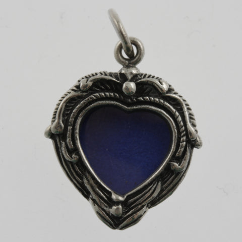 Heart picture frame pendant
