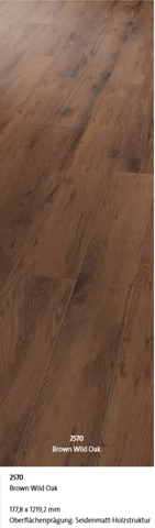 Objectflor SimpLay Vinylboden - 2570 Brown Wild Oak 2,17m² ab 42,34€/m²