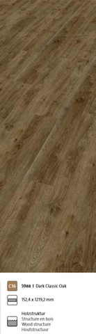 Objectflor Expona Domestic Vinylboden 5988 Dark Classic Oak 3.34m²