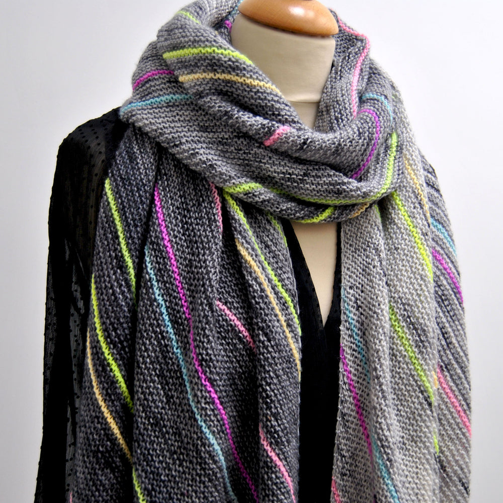 Hypatia Wrap - Free Pattern