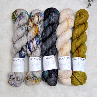 Slipstravaganza MKAL kit High Twist - Sassenach