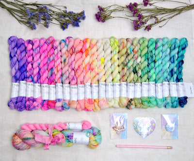 "Pre-order ""Wild Nymph"" ARTEMIS YARNS ADVENT CALENDAR !"