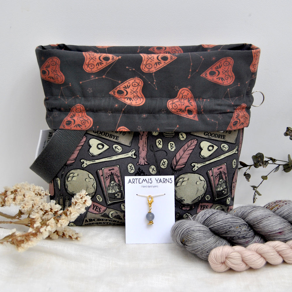 Pre-order Evil Witch project bag set - Set Sac à projet Evil Witch